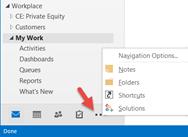 Add Microsoft Dynamics CRM Shortcuts in Outlook in Windows 8